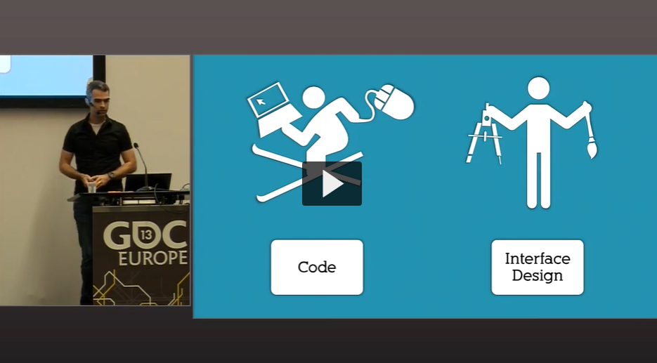 ゲーム開発ツールのユーザーエクスペリエンス GDC 2013 EUROPE