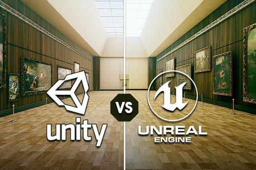 ゲームエンジン UnrealEngine とUnity の比較