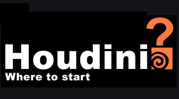 Houdiniの学習を始めるのに最適な順序は何ですか?
