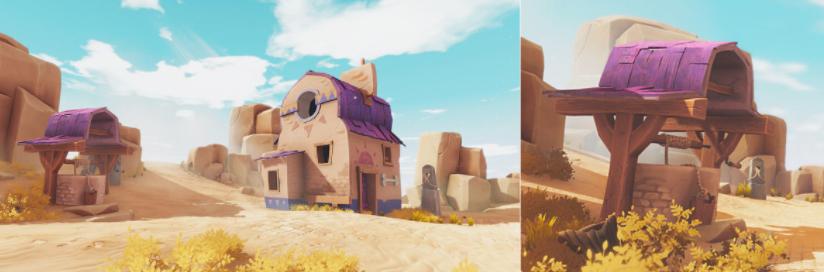 Unityで砂漠の3D背景シーンを作成