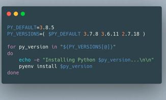 Pythonワークスペースの設定方法