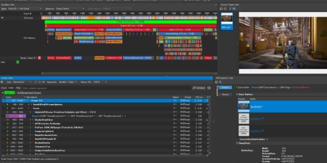 nVidia DirectX ゲームプロファイリング解析ツール